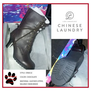 Chinese Laundry Bootie - Size 9 - Chocolate